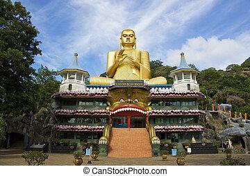 Golden Temple, Dambulla, Sri Lanka - Image of UNESCO's World...