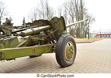 Anti-tank gun of the Second World War. - Soviet anti-tank...