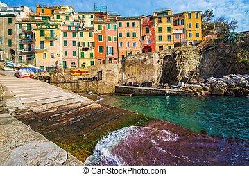Riomaggiore La Spezia Italy - Riomaggiore, La Spezia, Italy....