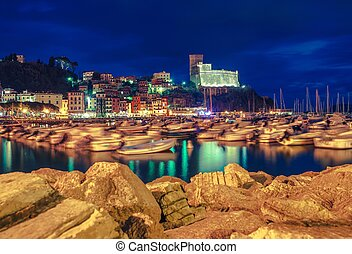 Lerici Reflections Italy - Famous Lerici Reflections. Town...