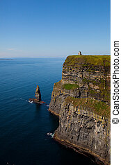 Cliffs of Moher in County Clare, Ireland - Cliffs of Moher...