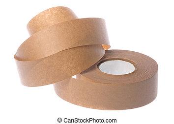 Masking Tape Isolated - Isolated image of masking tape.