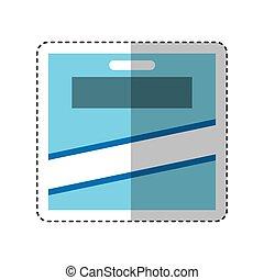 pencils colors box icon