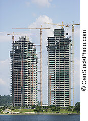 Buildings Under Construction - Image of multistorey...