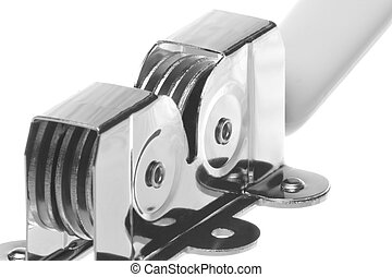 Knife Sharpener Isolated - Isolated image of a knife...