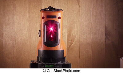 The laser measurement level for construction works,