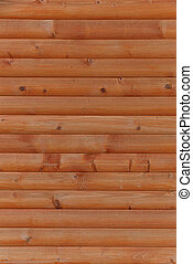 wooden wall made of planks