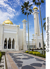 Sultan Omar Ali Saifuddien Mosque, Brunei - Image of Sultan...