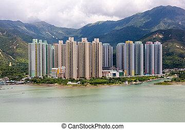 Yat Tung Estate, Lantau Island - Yat Tung Estate is small in...