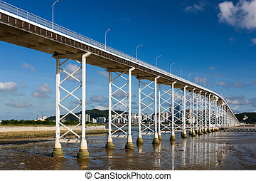 Macau-Taipa Bridge - Bridge from Macau casino to Taipa...