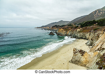 Pacific Coast Highway View - The Pacific Coast Highway...