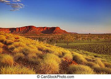 Australian landscape in Purnululu National Park, Western...