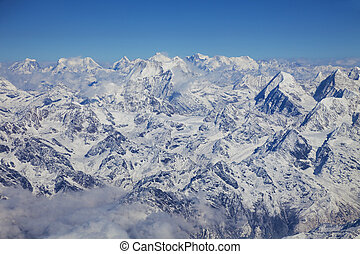 Himalayas, Nepal - Image of the Himalayas Mountain Range,...