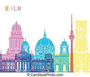 Berlin V2 skyline pop