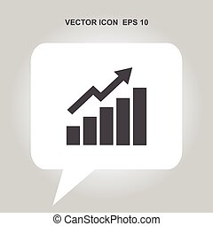 infographic vector icon