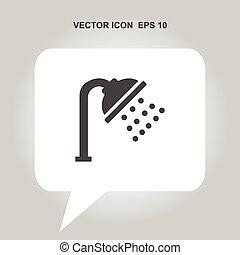 shower spray vector icon