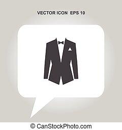 tuxedo vector icon