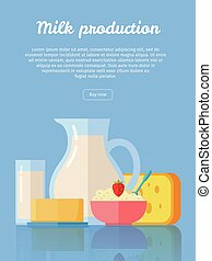 Traditional Dairy Products from Milk - Milk production...