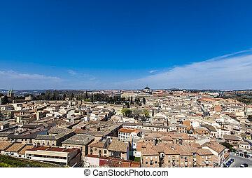 Toledo - Scenic view of the city of Toledo, Spain