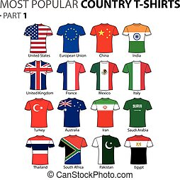 Most Popular Country T-shirts Part 1