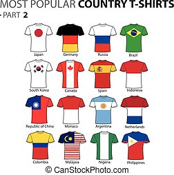 Most Popular Country T-shirts Part 2