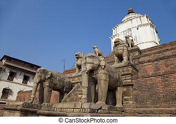 Silu Mahadev, Bhaktapur Durbar Square, Nepal - Image of Silu...