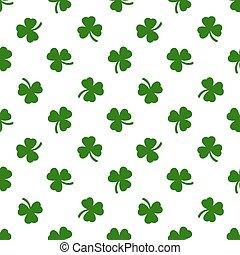 Clover leaves background. St. Patricks day background....
