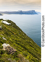 South African Coastline - South African rocky ocean...