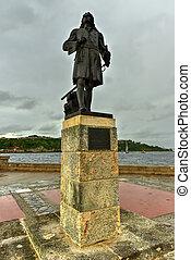 Monument to Pierre Le Moyne d'Iberville