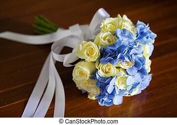 wedding bouquet, flowers