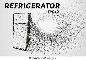 The refrigerator of the particles. The refrigerator consists...