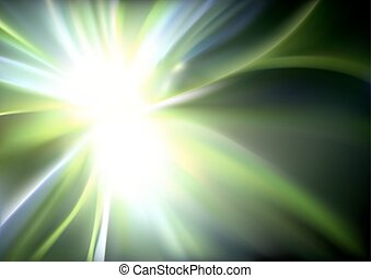 Glowing Light Rays Background - Glowing Light Rays with...