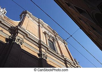 Cattedrale Metropolitana di San Pietro cathedral in Bologna...