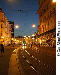 Zagreb tramway is coming, Croatia