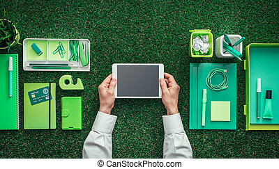 Green business and communication