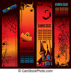 Halloween  banner.