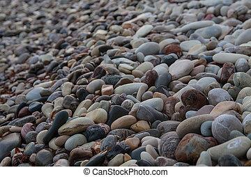 Beach Aphrodite in Cyprus - Stones in Petra tou Romiou...