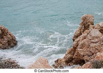 Beach Aphrodite in Cyprus - Petra tou Romiou - birthplace of...