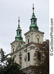 Church in Krakow, Poland.