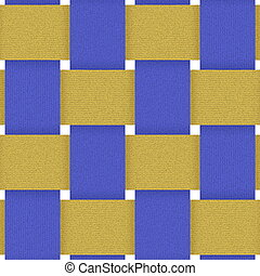 textilweave02236 - blue yellow fabric weave seamless...