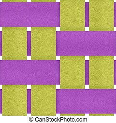 textilweave022315 - purple yellow fabric weave seamless...