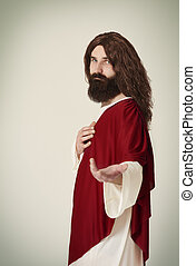 Jesus of Nazareth giving you helping hand