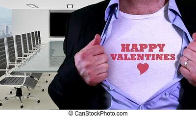 Happy valentines concept shirt