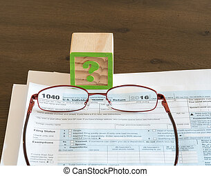 Tax preparation problems for IRS form