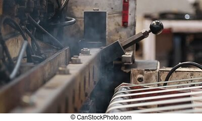 Industrial machine heat cutting - industrial machine...