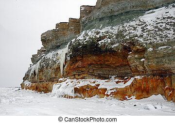 North Estonia cliff