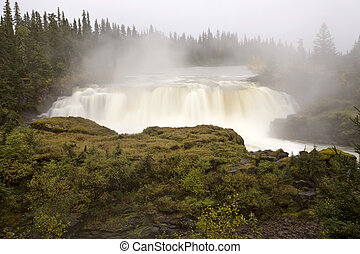 Pisew Falls Northern Manitoba Canada