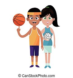 assorted sports people  icon image