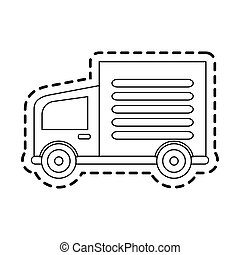 delivery truck icon image