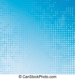Vector illustration with four halftone patterns. bstract...